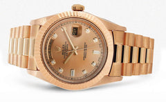 Rolex Day-Date 2 | 18K Rose Gold | 41 Mm Mens Watch FrostNYC
