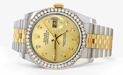New Style | Hidden Clasp | Gold Rolex Datejust Watch | 36Mm | Gold Dial | Jubilee Band CUSTOM ROLEX MANUFACTURER 11