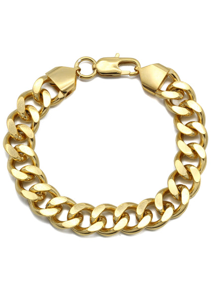 Gold Plated Curb Bracelet