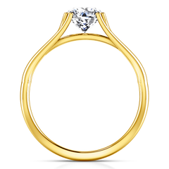 Solitaire Diamond Engagement Ring Adagio 14K Yellow Gold engagement rings imaginediamonds