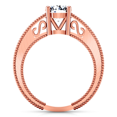 Solitaire Diamond Engagement Ring Kensington 14K Rose Gold engagement rings imaginediamonds