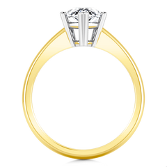 Solitaire Diamond Engagement Ring Hillary 14K Yellow Gold engagement rings imaginediamonds