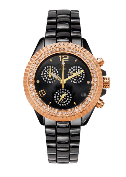 Womens Rose Gold Tone Diamond Watch | Appx 1.29 Carats