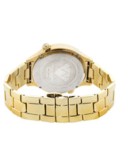 Mens Yellow Gold Tone Diamond Watch | Appx. 2.46 Carats MENS GOLD WATCH FROST NYC