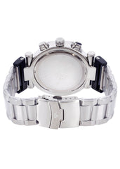 Mens White Gold Tone Diamond Watch | Appx. 0.26 Carats