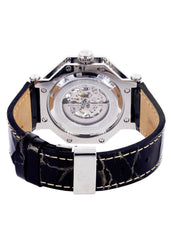Mens White Gold Tone Diamond Watch | Appx. 1.02 Carats