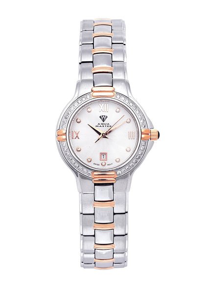 Womens Rose Gold Tone Diamond Watch | Appx 0.63 Carats