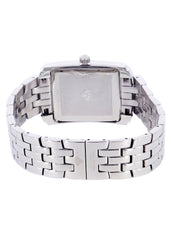 Mens White Gold Tone Diamond Watch | Appx. 1.51 Carats