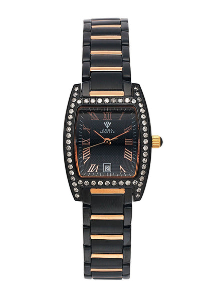 Womens Rose Gold Tone Diamond Watch | Appx 1.13 Carats