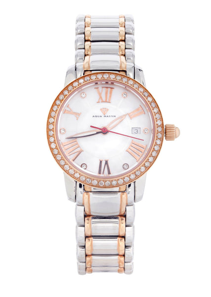 Womens Rose Gold Tone Diamond Watch | Appx 0.54 Carats