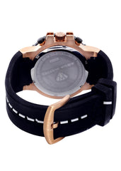 Mens Rose Gold Tone Diamond Watch | Appx. 0.275 Carats MENS GOLD WATCH FROST NYC