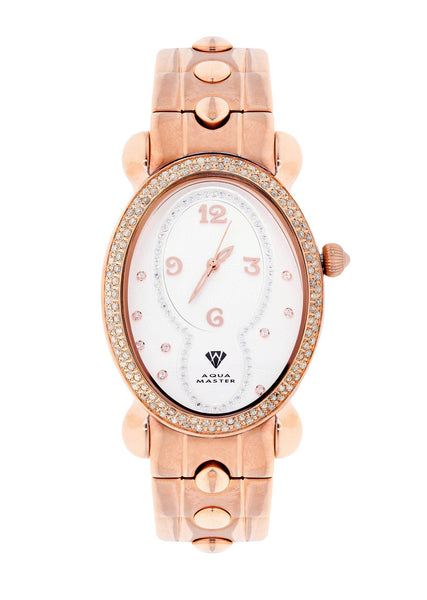Womens Rose Gold Tone Diamond Watch | Appx 1.02 Carats
