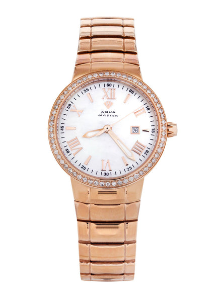 Womens Rose Gold Tone Diamond Watch | Appx 0.67 Carats