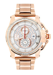 Mens Rose Gold Tone Diamond Watch | Appx. 0.24 Carats MENS GOLD WATCH FROST NYC