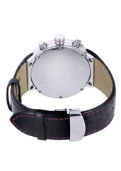Mens White Gold Tone Watch