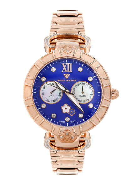 Womens Rose Gold Tone Diamond Watch | Appx 0.4 Carats