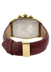 Mens Yellow Gold Tone Diamond Watch | Appx. 2.5 Carats MENS GOLD WATCH FROST NYC