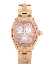Womens Rose Gold Tone Diamond Watch | Appx 1.25 Carats WOMENS WATCH FROST NYC