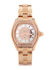 Womens Rose Gold Tone Diamond Watch | Appx 1.26 Carats WOMENS WATCH FROST NYC