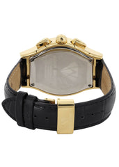 Mens Yellow Gold Tone Diamond Watch | Appx. 1.5 Carats MENS GOLD WATCH FROST NYC
