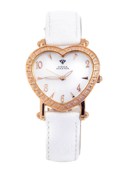 Womens Rose Gold Tone Diamond Watch | Appx 0.51 Carats
