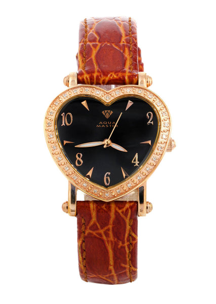 Womens Rose Gold Tone Diamond Watch | Appx 0.52 Carats