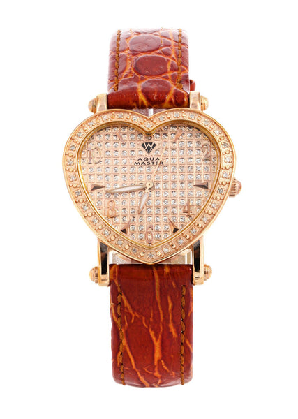 Womens Rose Gold Tone Diamond Watch | Appx 0.5 Carats