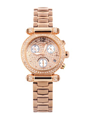 Womens Rose Gold Tone Diamond Watch | Appx 0.85 Carats WOMENS WATCH FROST NYC