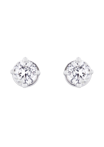 Round Diamond Stud Earrings | 0.65 Carats