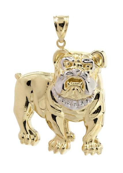 Big Dog 10K Yellow Gold Pendant. | 11.3 Grams