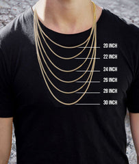 10K Yellow Gold Pharaoh Pendant & Rope Chain | 0.25 Carats diamond combo FrostNYC