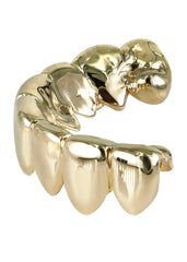GOLD 8 TEETH GOLD GRILLS