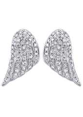 Diamond Earrings |  14K White Gold  | 1.56 Carats