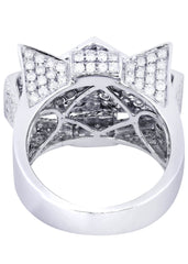 Mens Diamond Ring| 3.54 Carats| 15.64 Grams