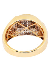 Mens Diamond Pinky Ring| 0.65 Carats| 9.67 Grams