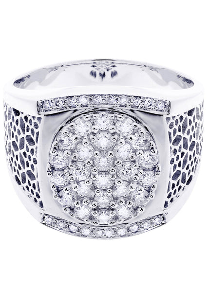 Mens Diamond Ring| 0.91 Carats| 13.14 Grams