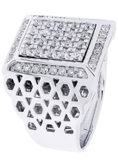Mens Diamond Ring| 1.03 Carats| 19.11 Grams