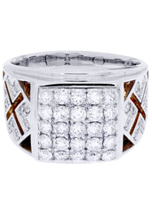 Mens Diamond Ring| 1.61 Carats| 12 Grams MEN'S RINGS FROST NYC