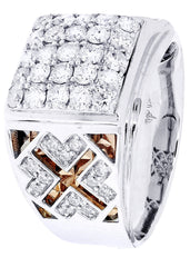 Mens Diamond Ring| 1.61 Carats| 12 Grams