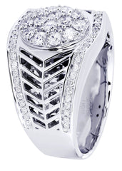 Mens Diamond Ring| 1.06 Carats| 13.66 Grams