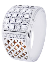 Mens Diamond Ring| 0.91 Carats| 12.64 Grams