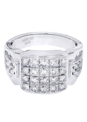 Mens Diamond Ring| 1.46 Carats| 9.94 Grams