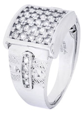 Mens Diamond Ring| 0.84 Carats| 14.74 Grams
