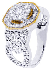 Mens Diamond Ring| 0.84 Carats| 7.65 Grams MEN'S RINGS FROST NYC