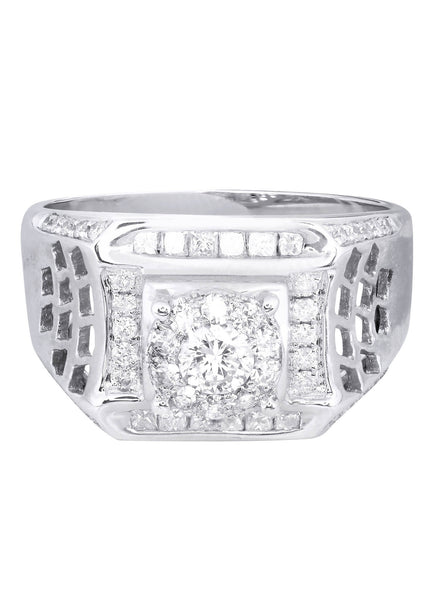 Mens Diamond Ring| 0.84 Carats| 8.54 Grams