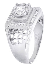Mens Diamond Ring| 0.84 Carats| 8.54 Grams MEN'S RINGS FROST NYC
