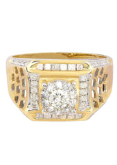 Mens Diamond Pinky Ring| 0.8 Carats| 8.09 Grams