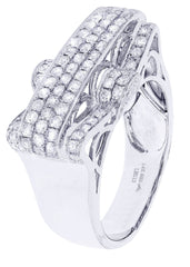 Mens Diamond Ring| 1.54 Carats| 10.98 Grams MEN'S RINGS FROST NYC