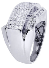 Mens Diamond Ring| 1.14 Carats| 16.31 Grams