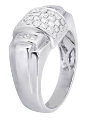 Mens Diamond Ring| 0.7 Carats| 7.83 Grams